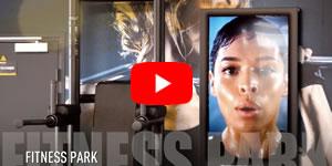 Vidéo Ecrans muraux Fitness Park
