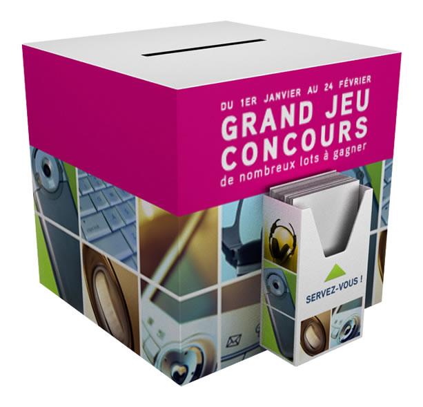 Urne jeu carton carpc e for Plv broker