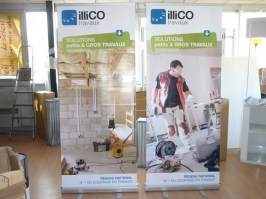 Roll-up Initial pas cher