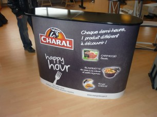 Comptoir publicitaire Charal