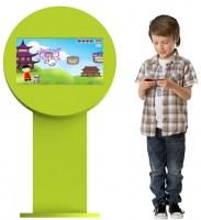 Borne enfant avec jeux
