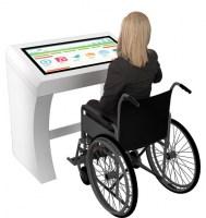 Borne PMR 43 personnes en situation de handicap