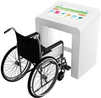 Borne PMR personnes en situation de handicap