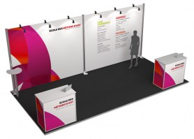 Stand modulable 03