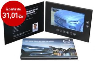 Brochure vidéo 7 pouces videobook