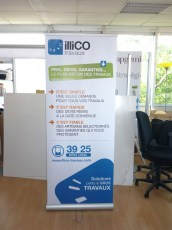 Roll-up petit prix Illico