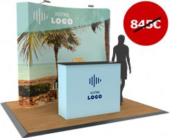 Stand modulaire complet petit prix