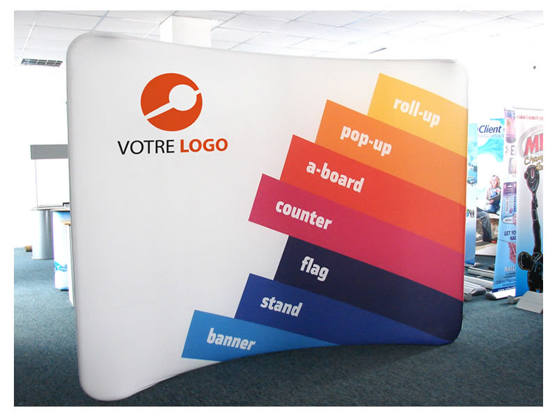 STAND FABRIC POPUP 01 (STRUCTURE SEULE)