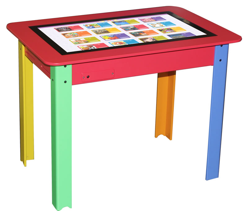 """TABLE TACTILE 22"""" COLOR KID"""
